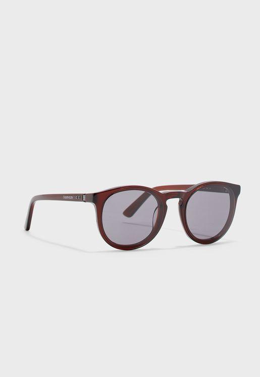 CK19523S Oval Shape Sunglasses
