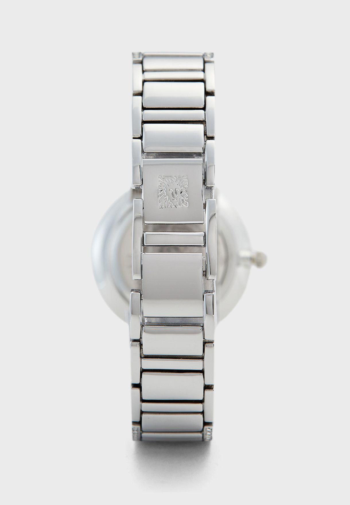 AK3201SVSV Steel Strap Analog Watch