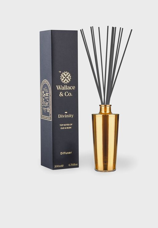 Amber & Oudh Divinity Diffuser 200Ml