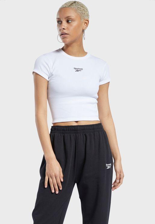 Classics Ribbed T-Shirt