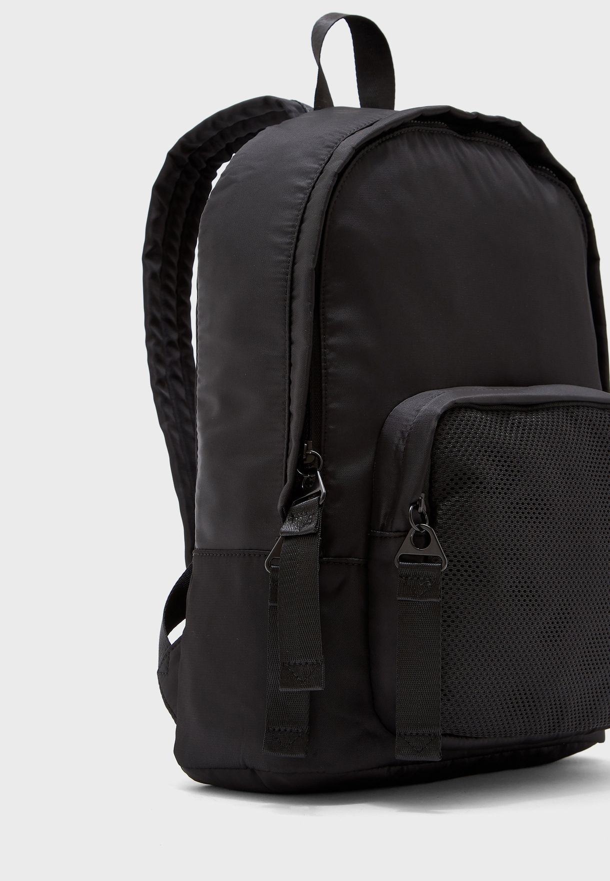 Mesh Pocket Backpack