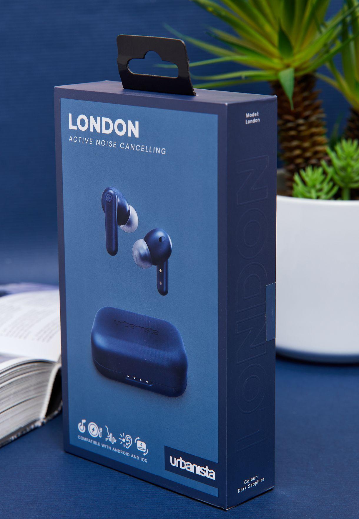 London Noise Cancelling Wireless Earphones