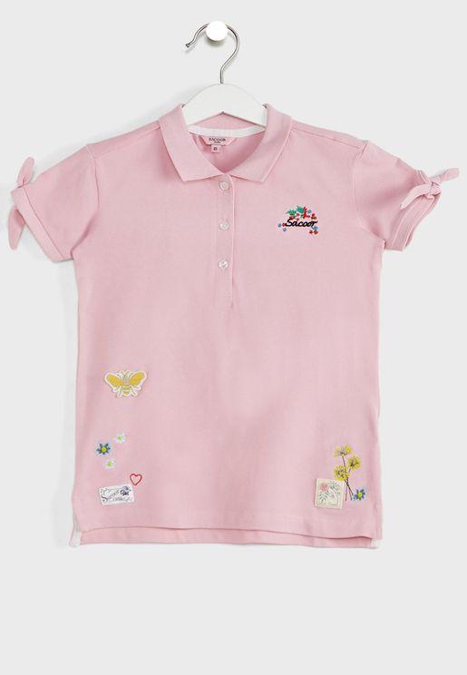 Kids Badges Polo