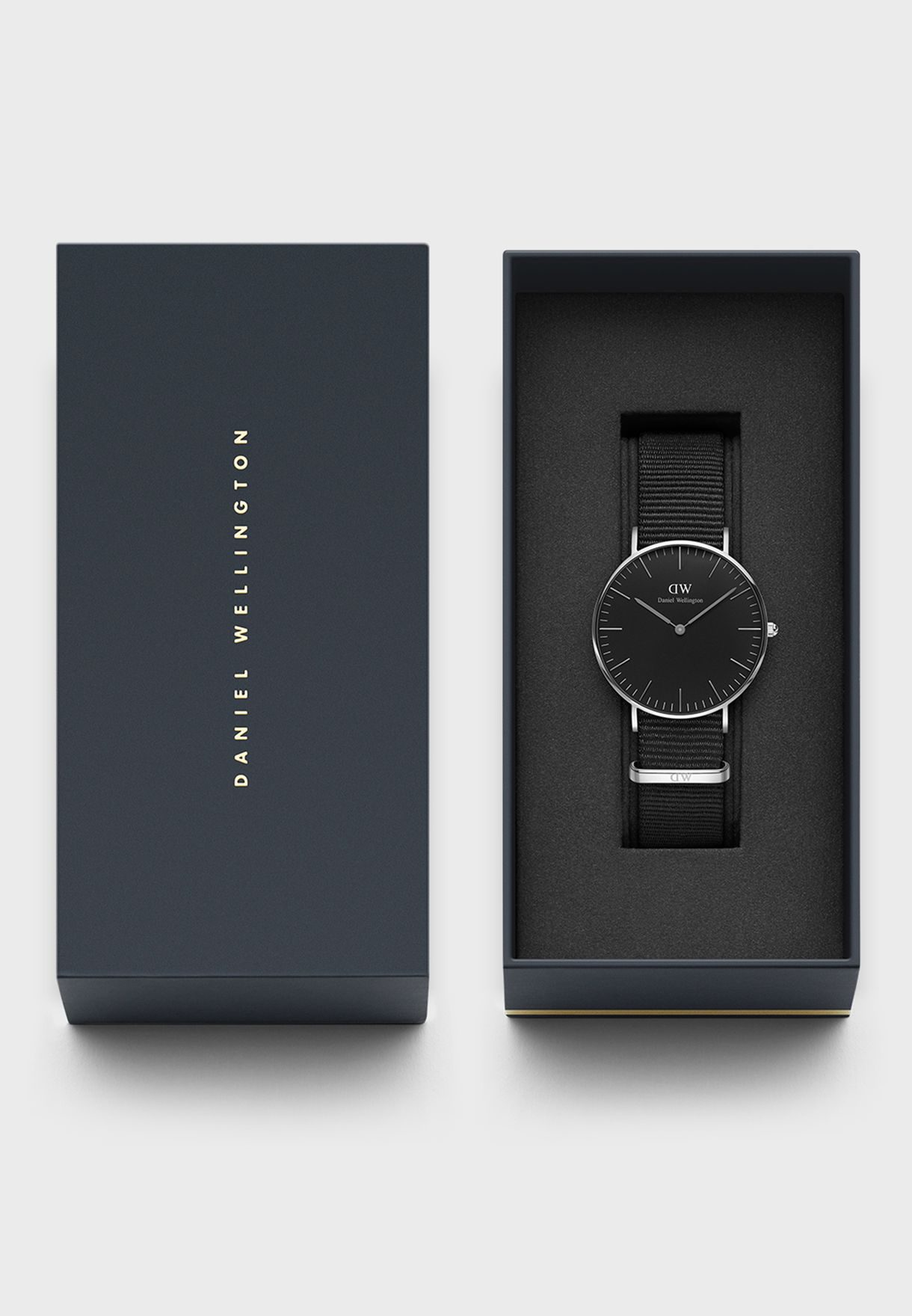Nylon Strap Analog Watch