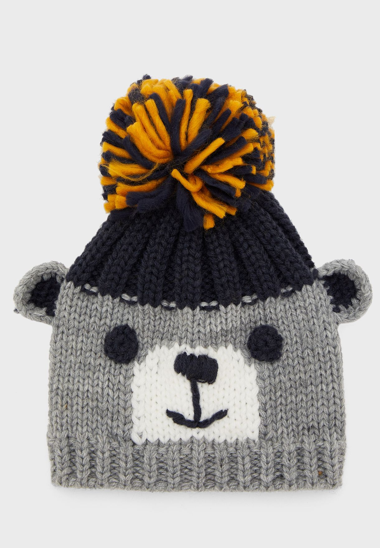 Infant Knitted Pom Pom Beanie