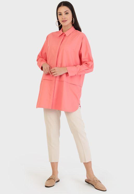 Longline Shirt Tunic
