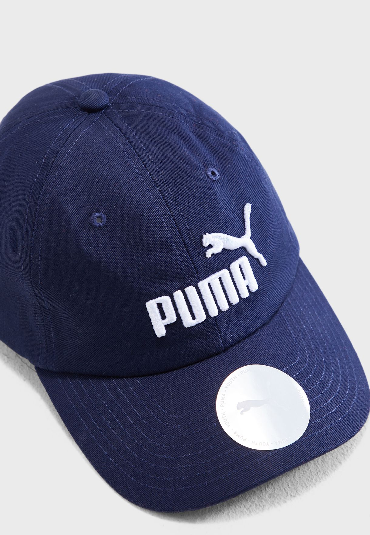 25ac4c9b0cc Shop PUMA navy Essential Cap 2168806 for Kids in UAE - 20000AC17JJP