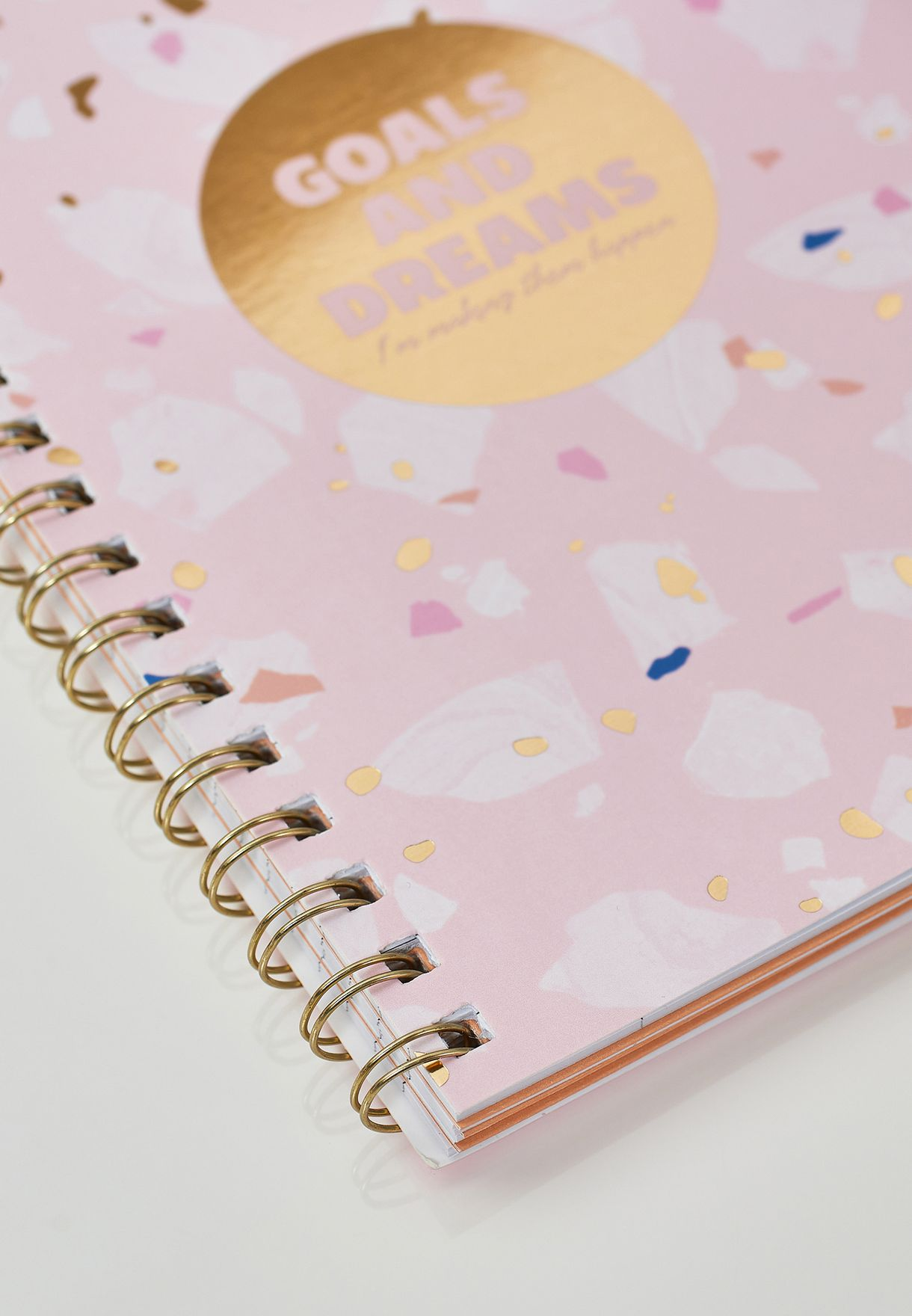 Goals And Dreams A5 Notebook
