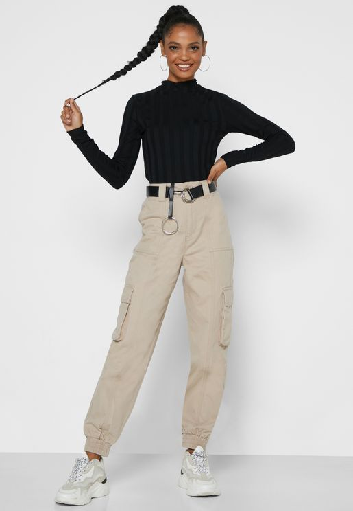 Cargo Fitted Pants