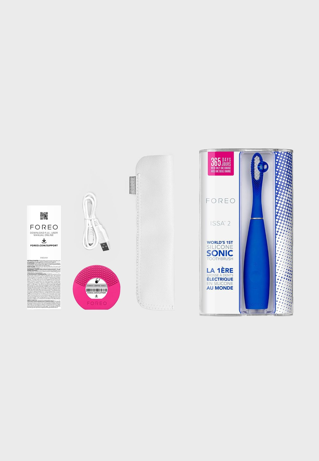ISSA 2 Electric Sonic Toothbrush - Cobalt Blue