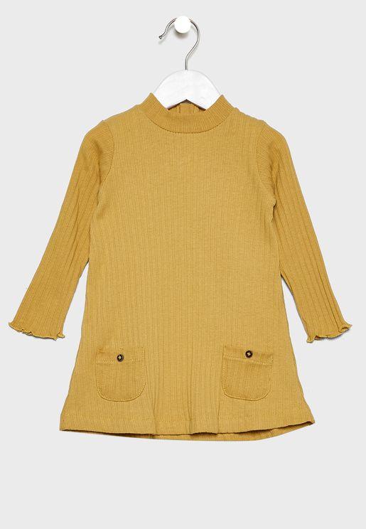 Infant Pocket Detail Dress