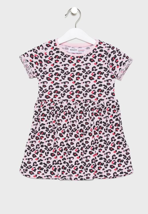 Infant Leopard Dress