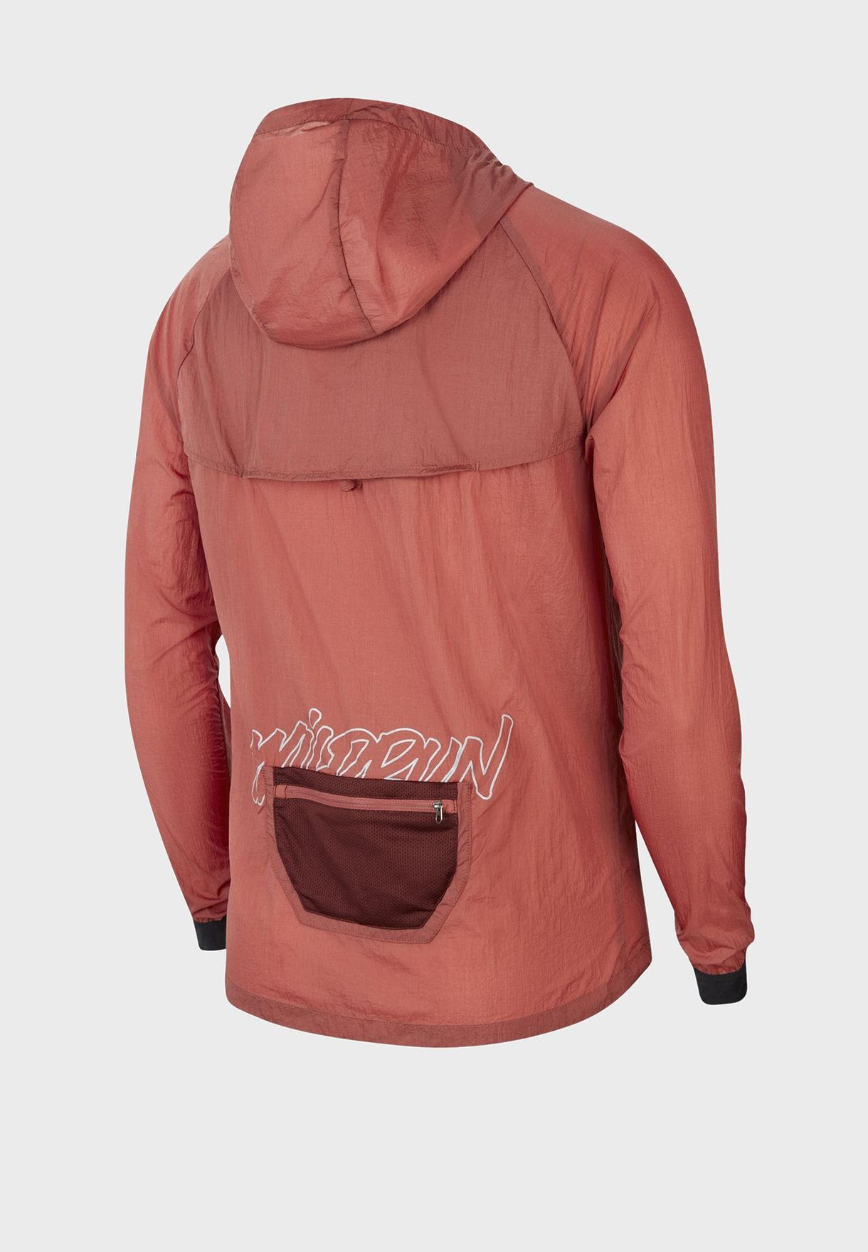Colour Block Windrunner Hooded Jacket