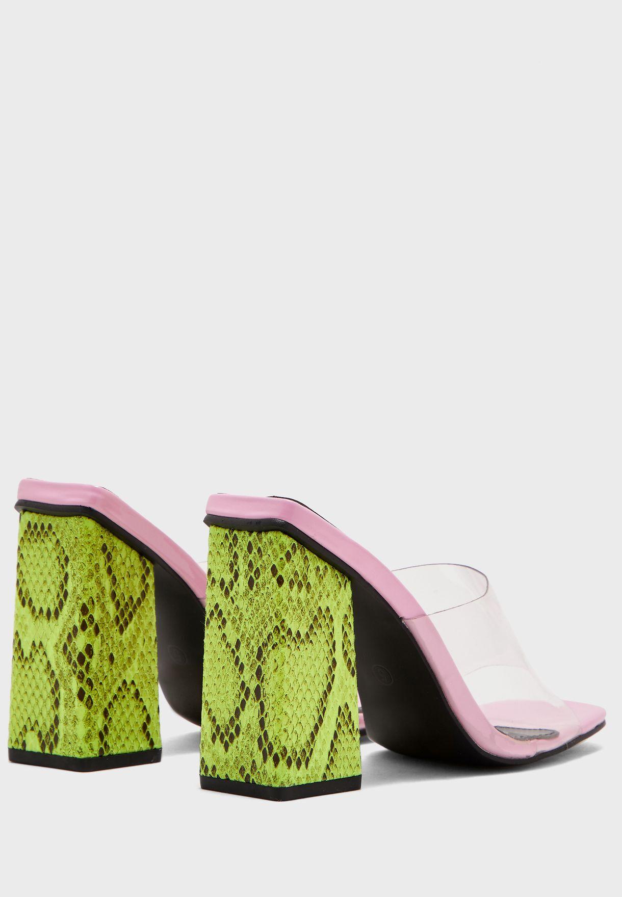 Klaudia Block Heel Sandal