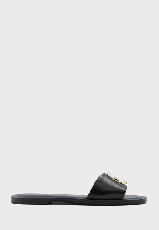 Glaeswen Flat Sandal