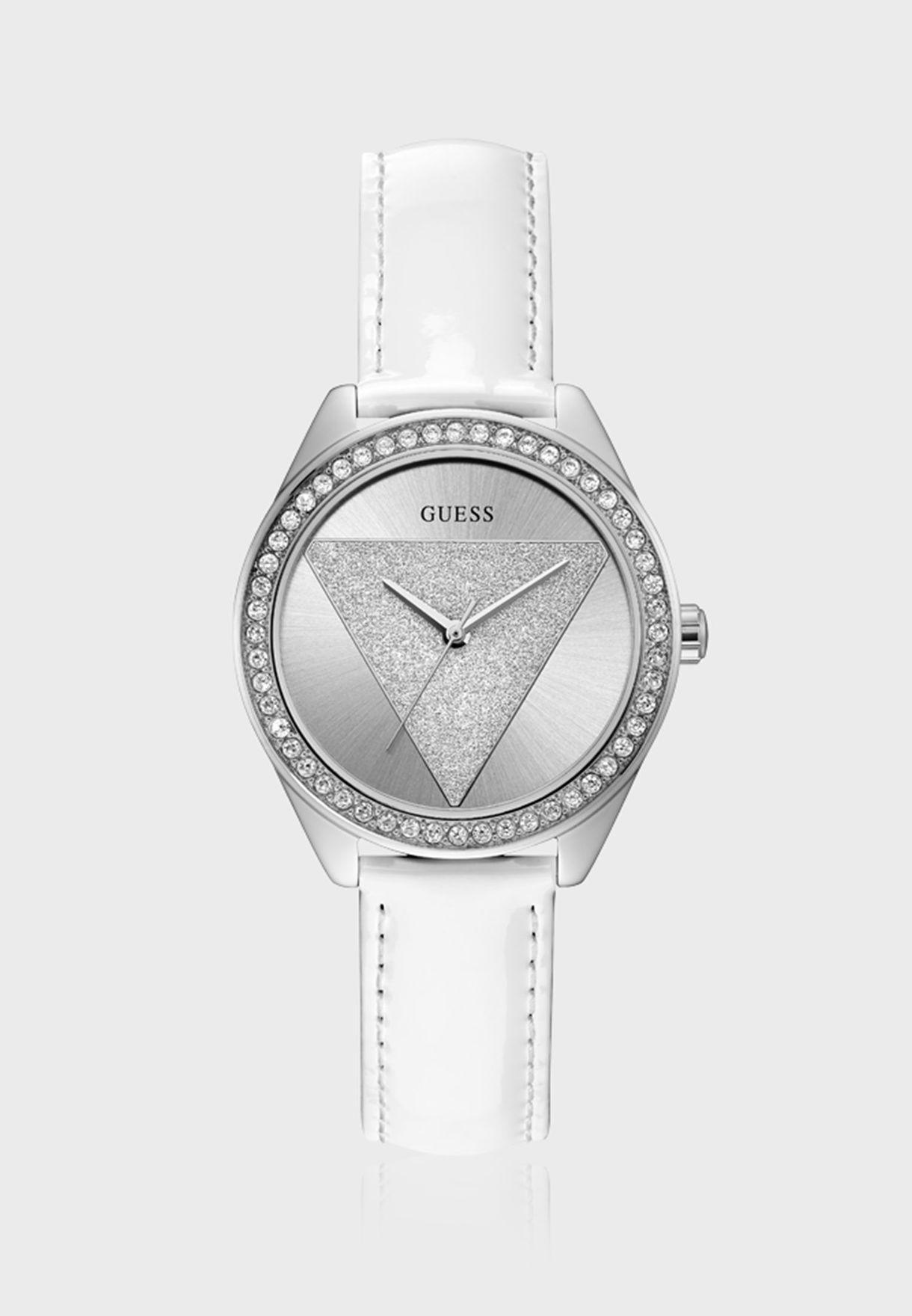 9fe22f019 Shop Guess white Tri Glitz Analog Watch W0884L2 for Women in UAE ...