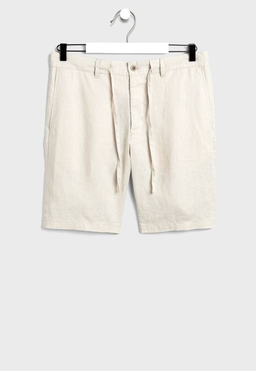 Drawstring Relaxed Fit Shorts