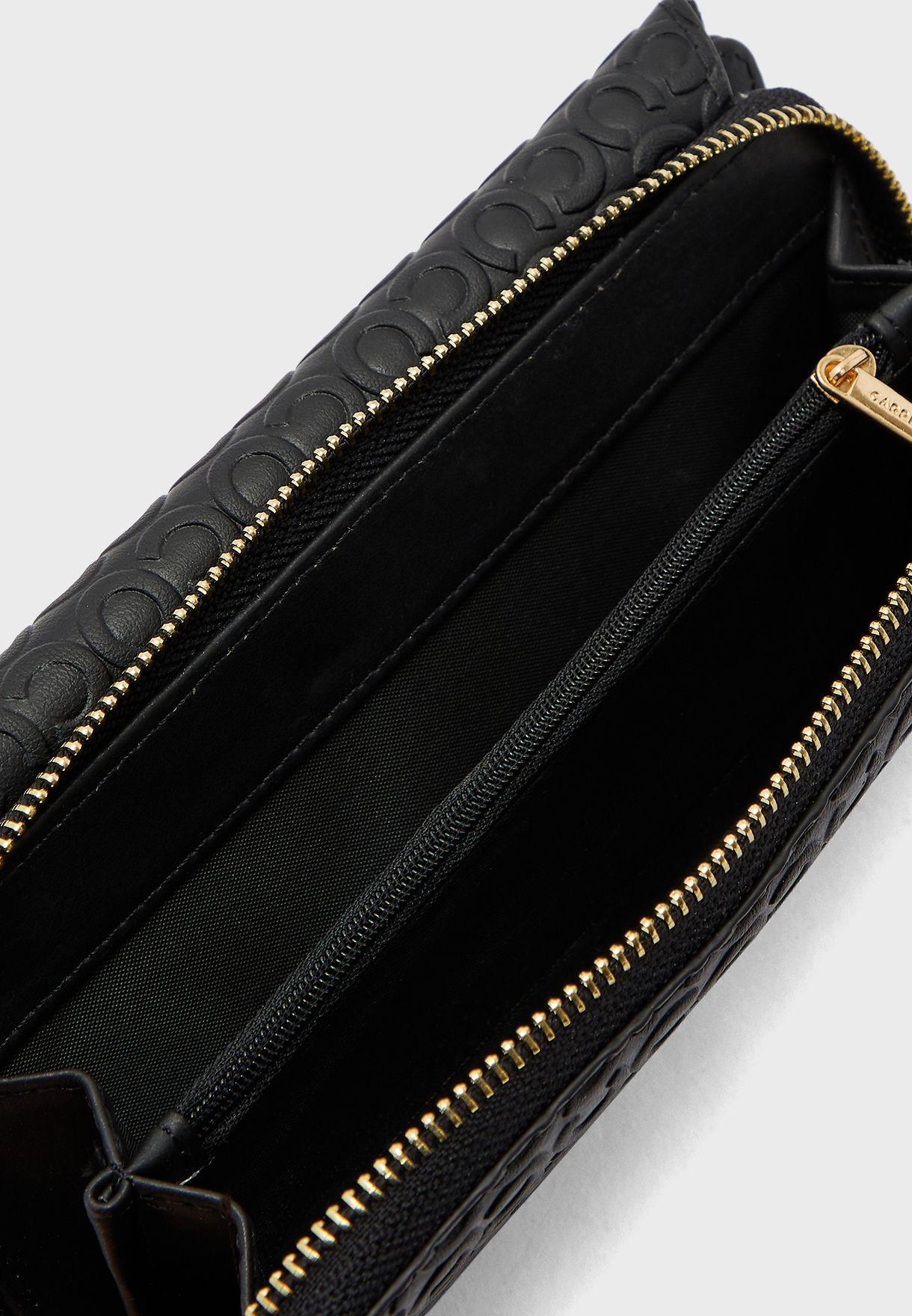 Tri-Fold Zip Through Purse