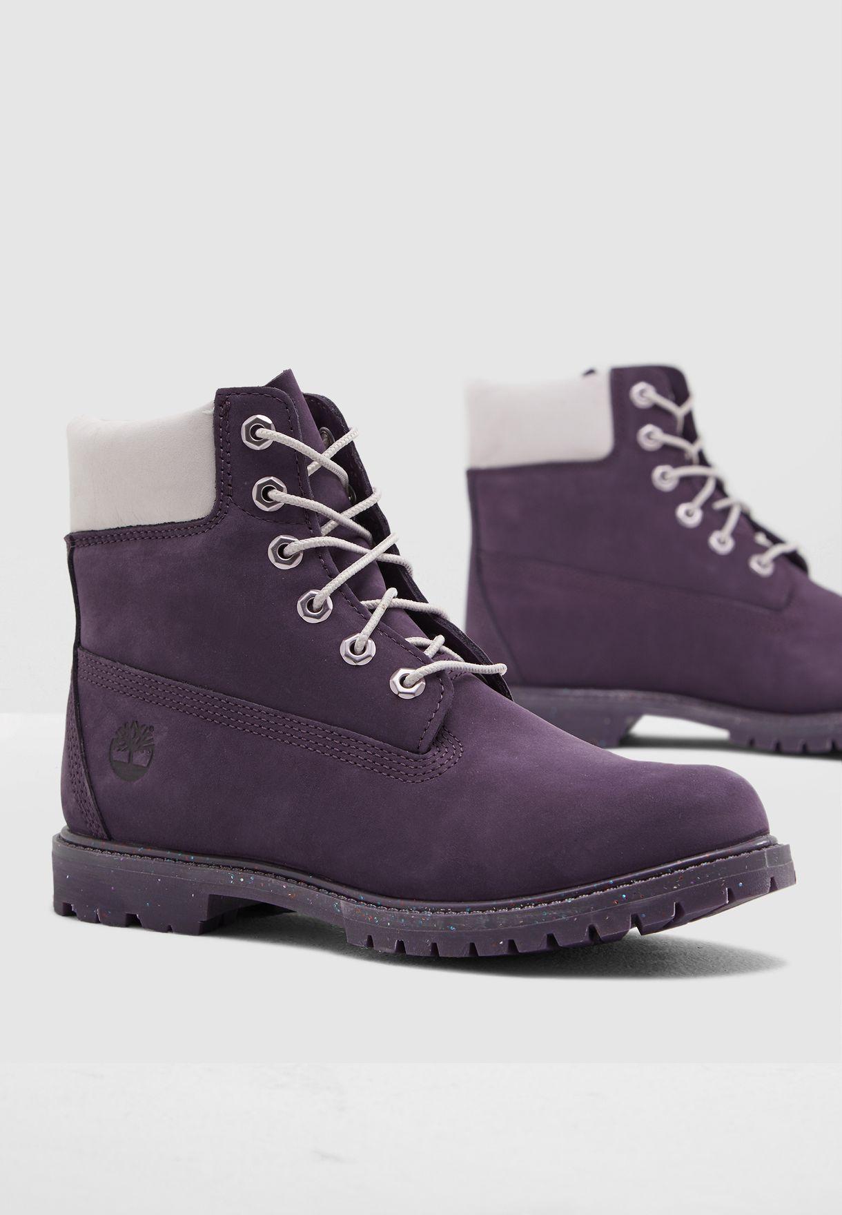 "e987347a325cc Shop Timberland purple 6"" Premium Boot CA1VKG for Women in UAE ..."