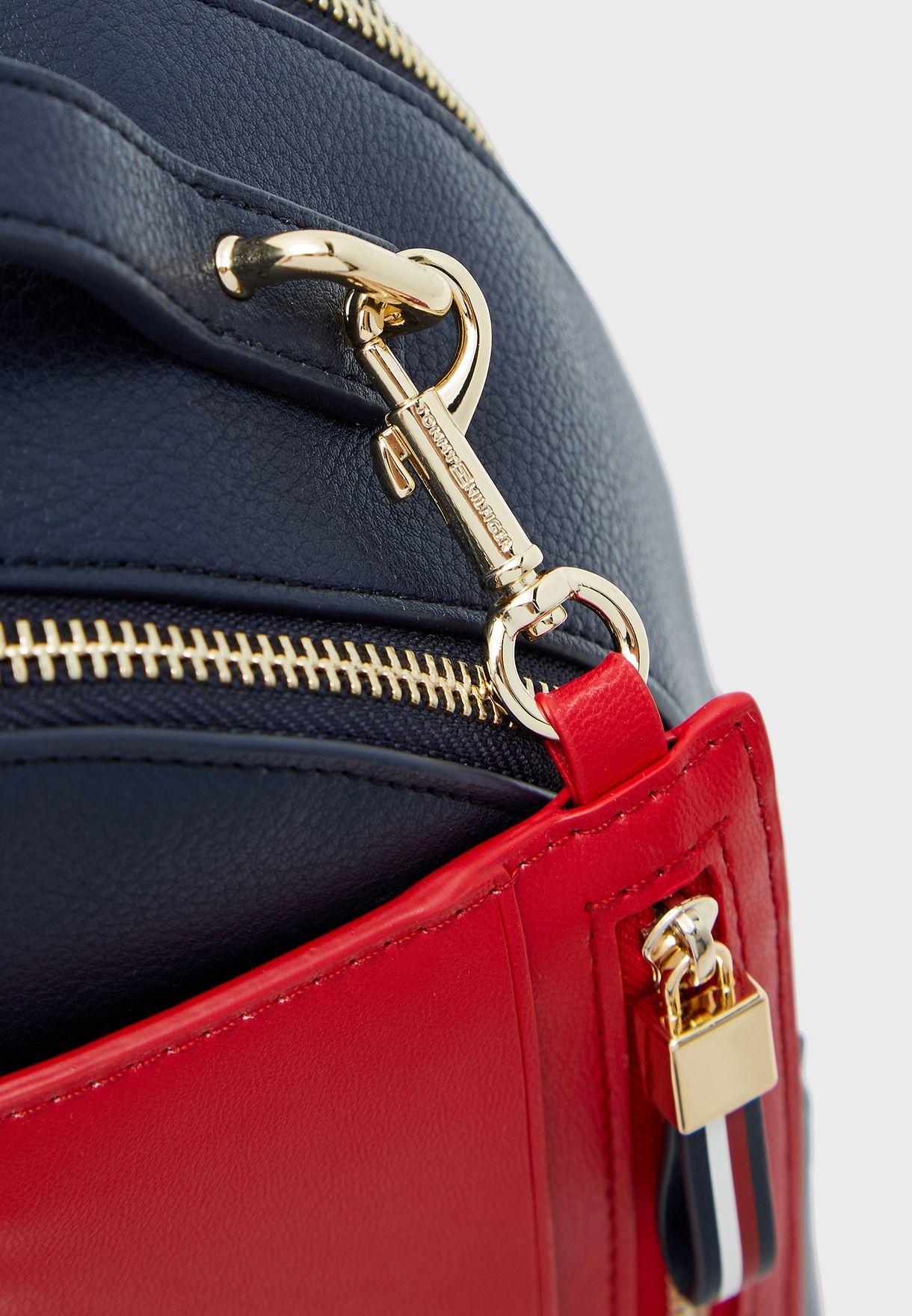 Charming Top Zip Backpack