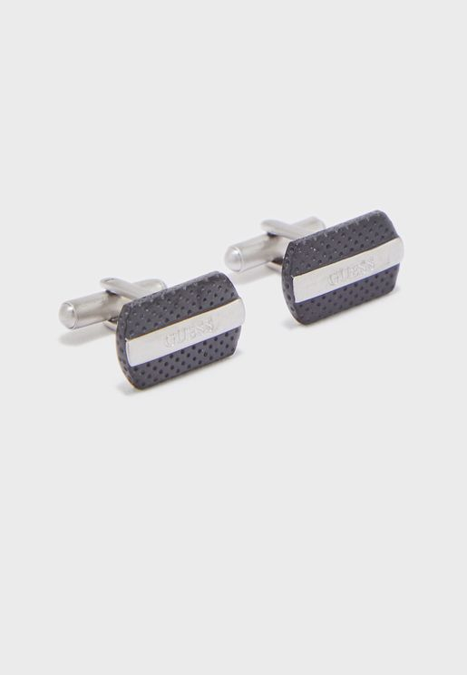 Logo Two Tone Cuff Links