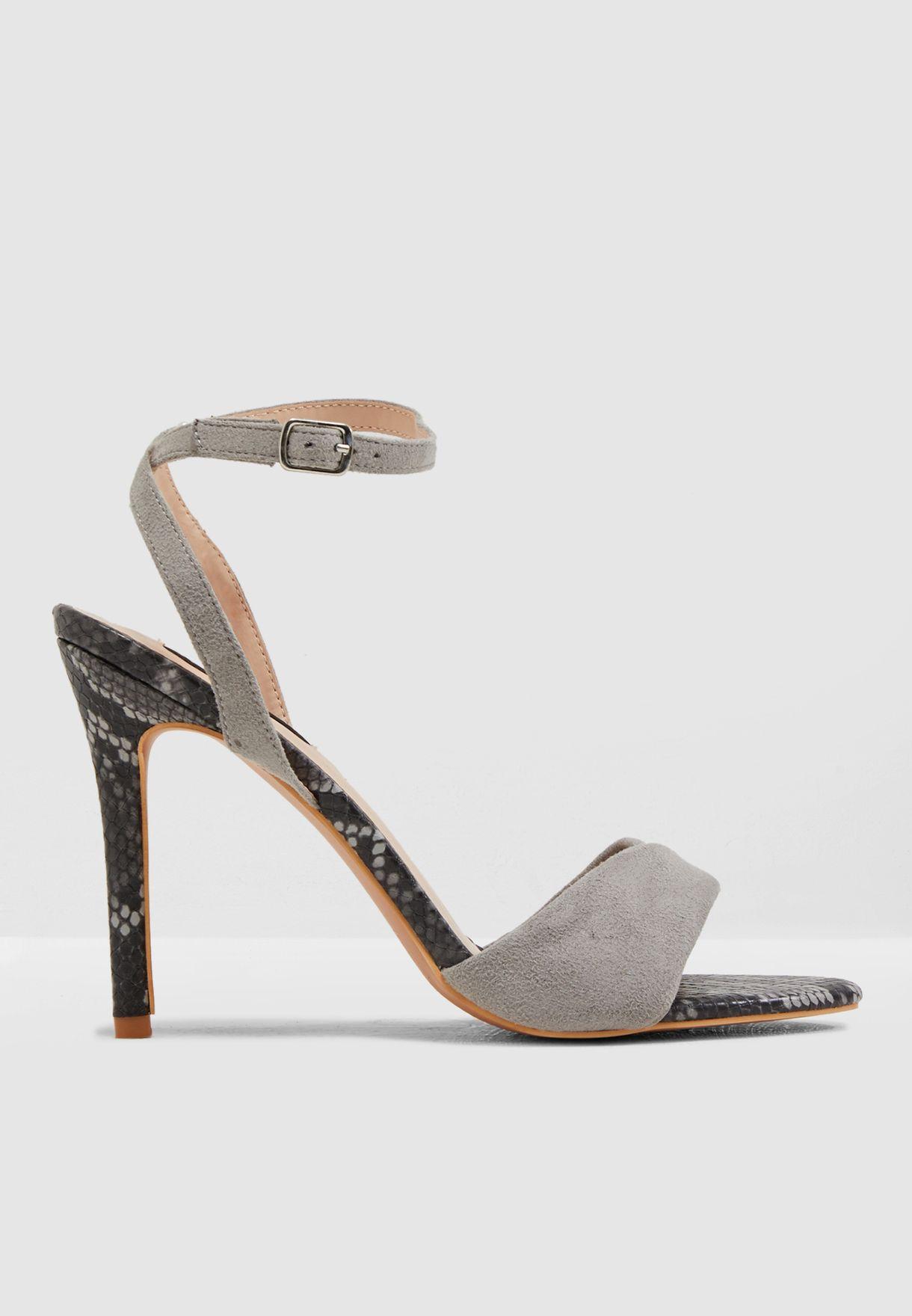 Wide Fit Tabia Barley Sweatheart Sandal
