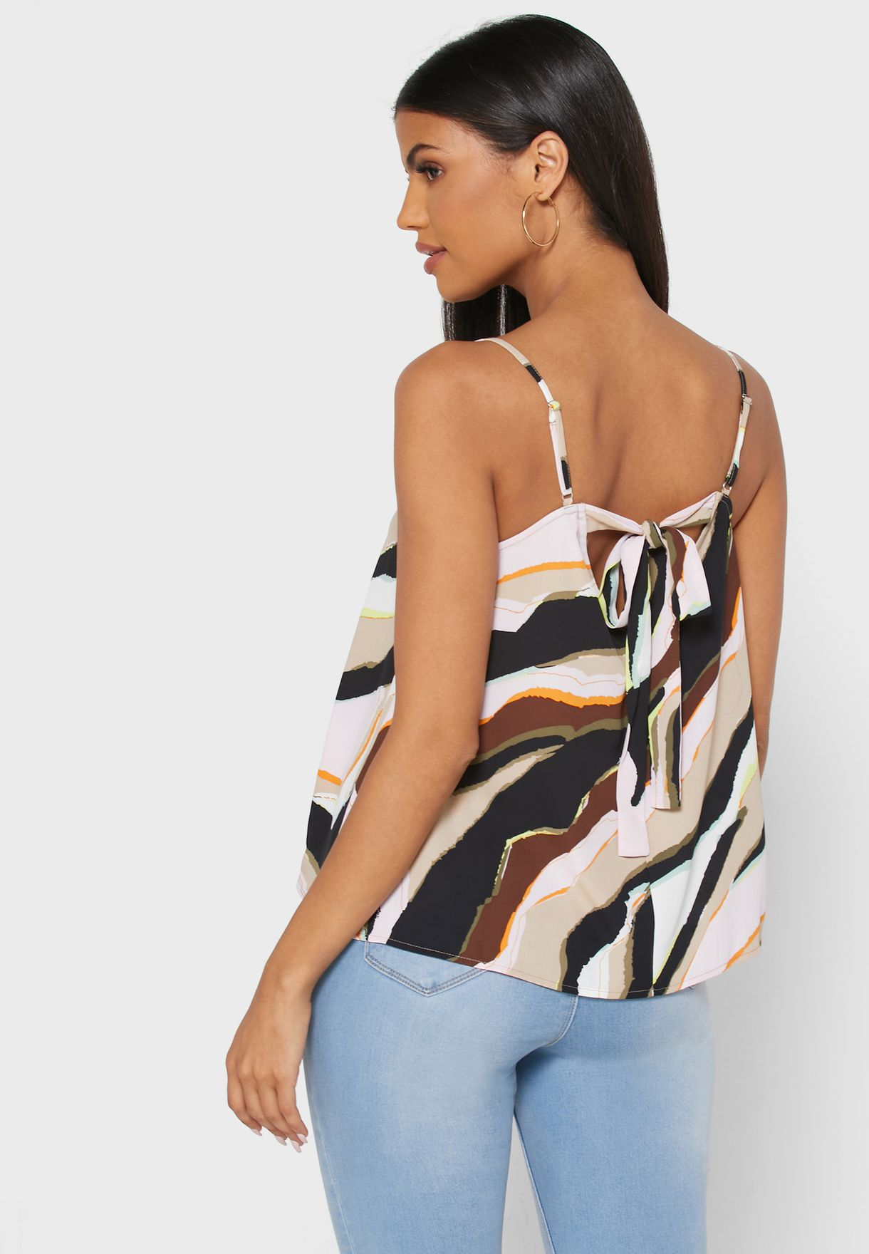 Printed Cami Top
