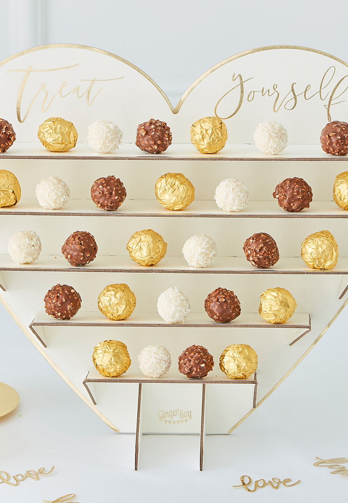 Heart Shaped Sweet Stand