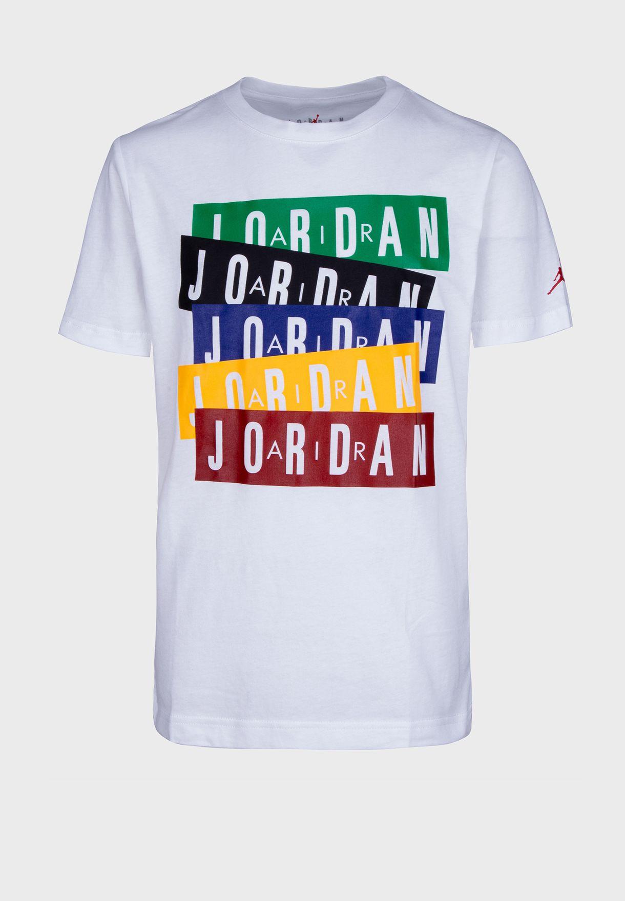 Youth Jordan Stack T-Shirt