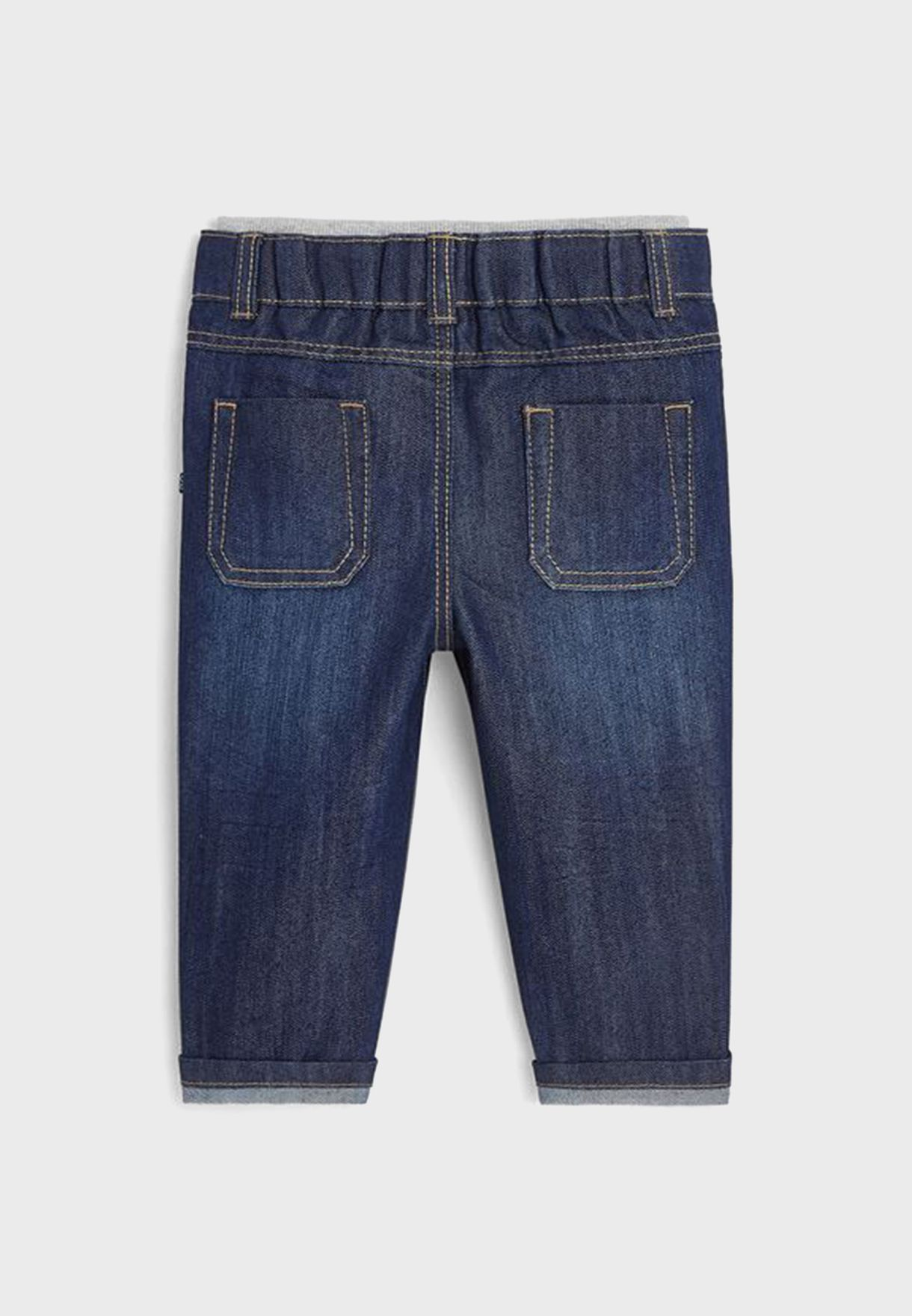 Infant Folded Hem Jeans