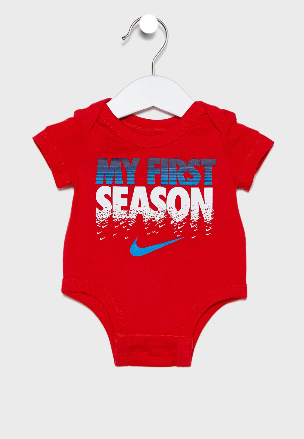 Infant 3 Pack Swoosh Bodysuit