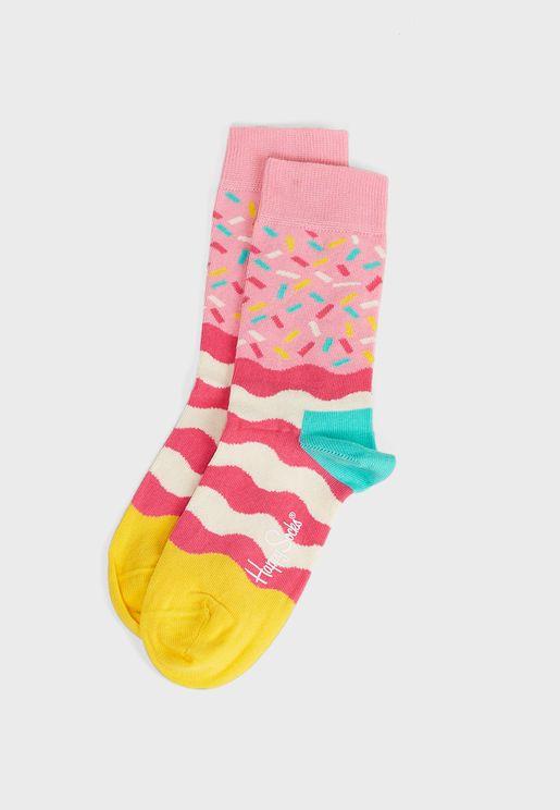 Birthday Sprinkles Crew Socks