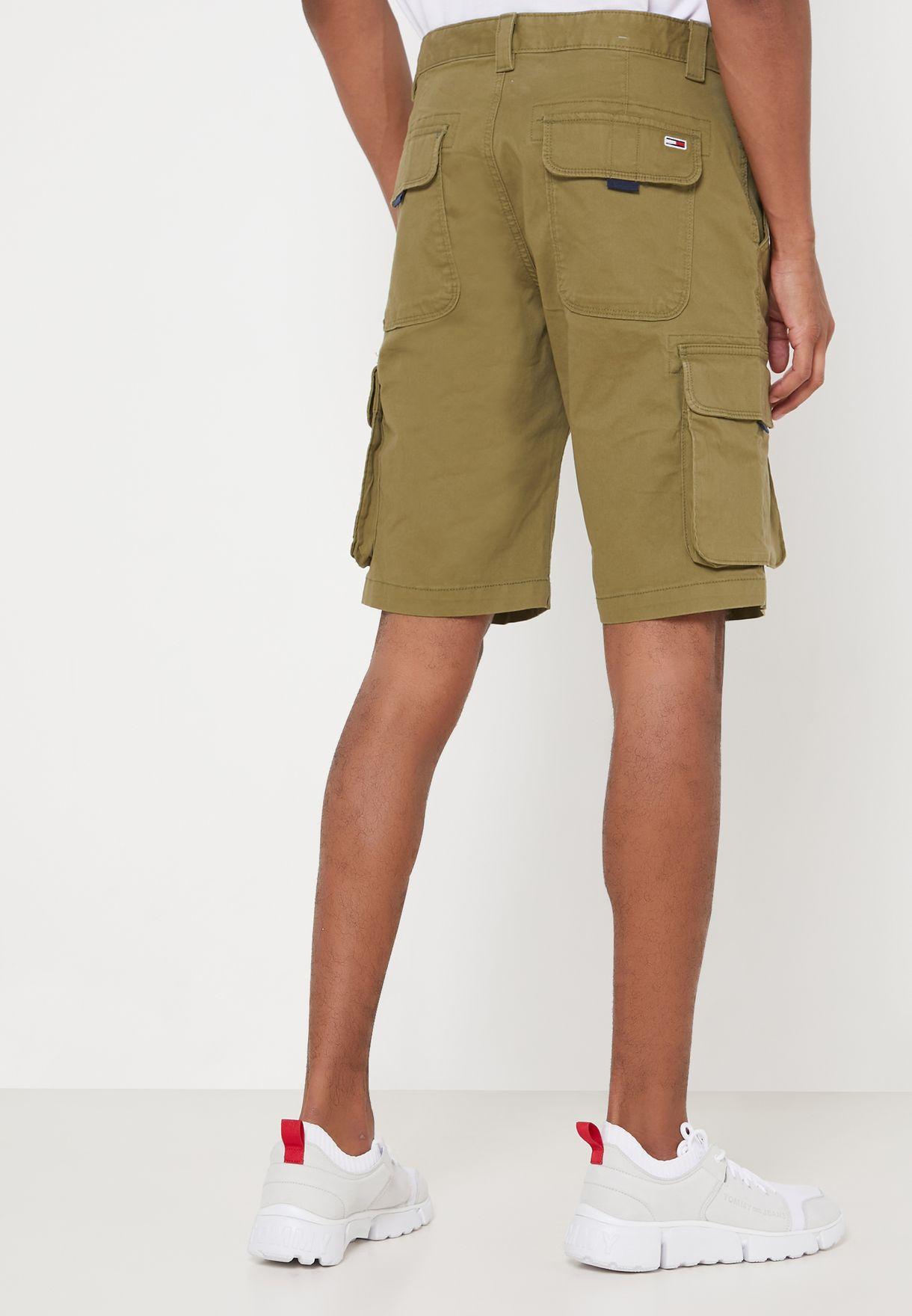 Washed Cargo Shorts