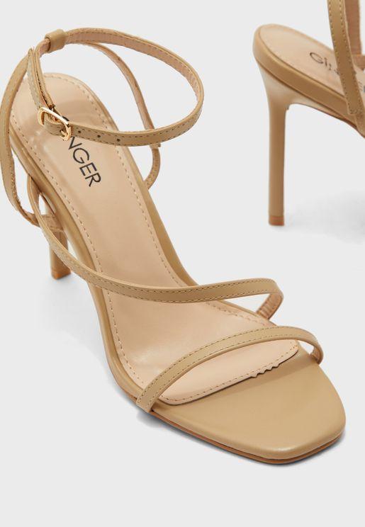 Square Toe Strappy Sandals