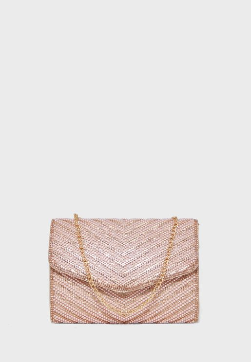Denadda Envelope Detail Clutch