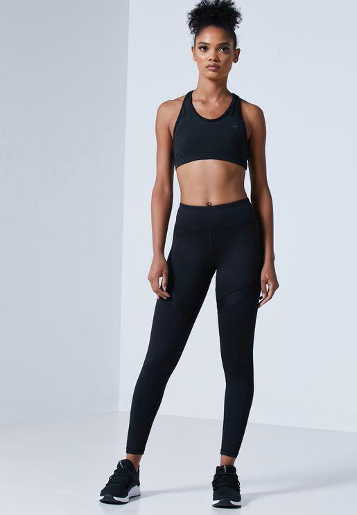 Mesh Workout Ready Sports Training Leggings