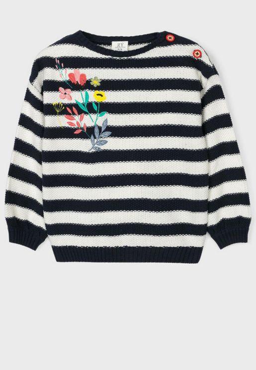 Kids Striped Sweater