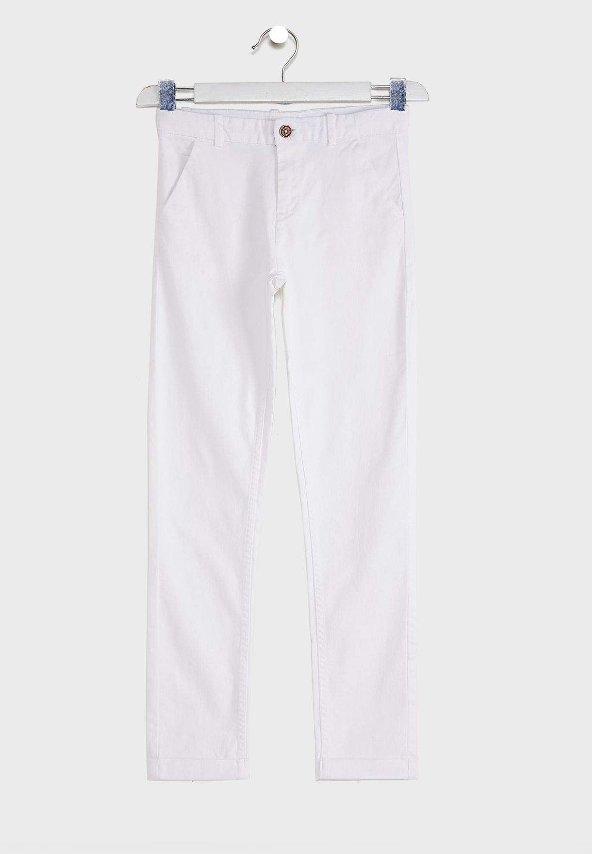Kids Straight Fit Trousers