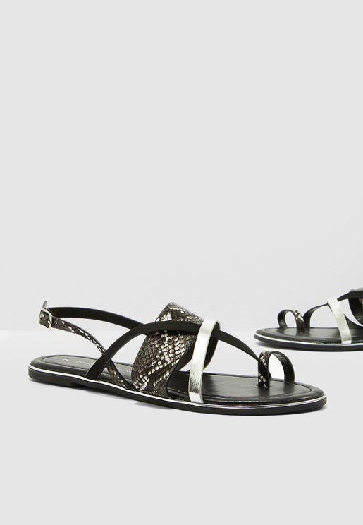 99c9703c2 Fangs Animal Comfort Sandal - Black