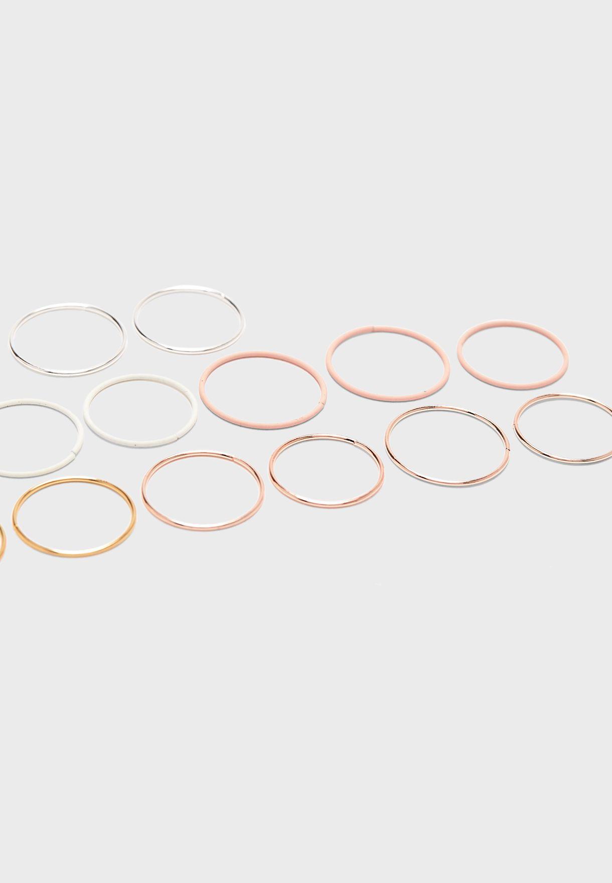 Multipack Casual Rings