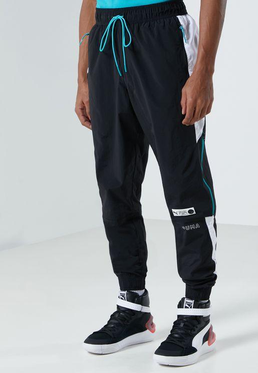 Parquet Woven Track Pants