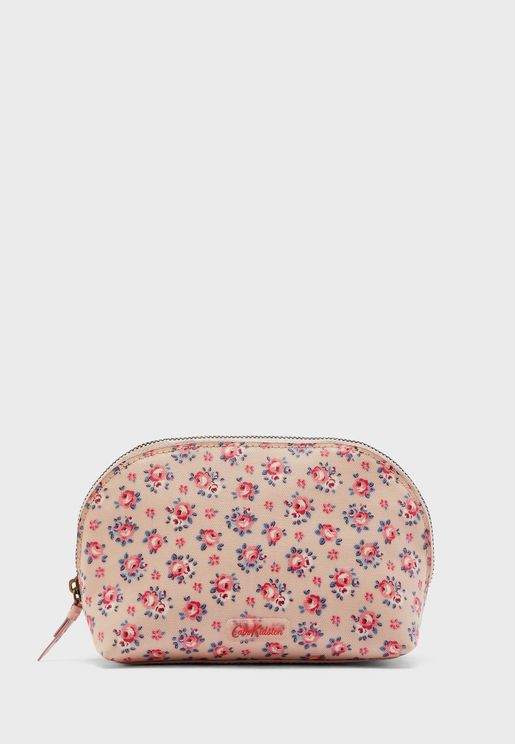 Curved Cosmetic Bag