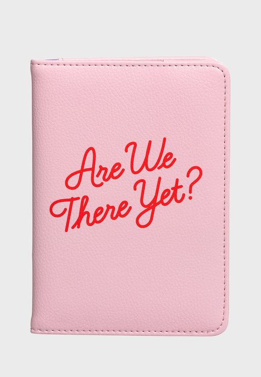Passport Cover - Are We There Yet?