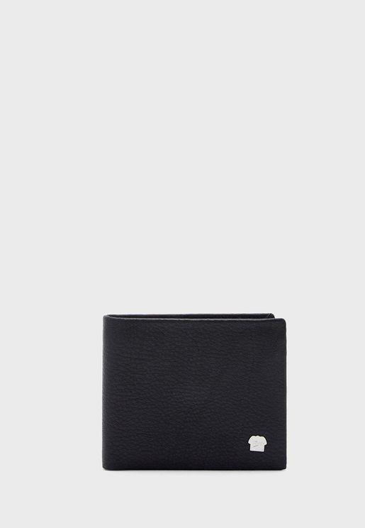 Leather Bi Fold Wallet