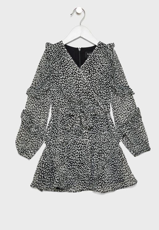 Teen Mimi Leopard Dress