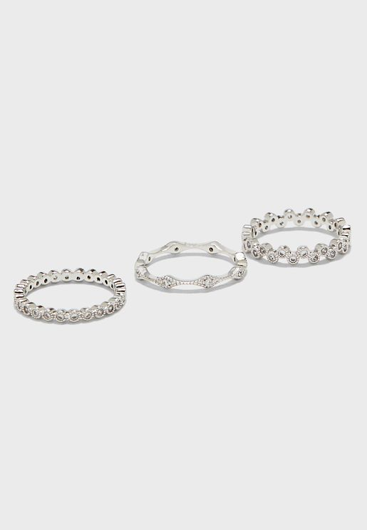 Mixed Stacker Ring