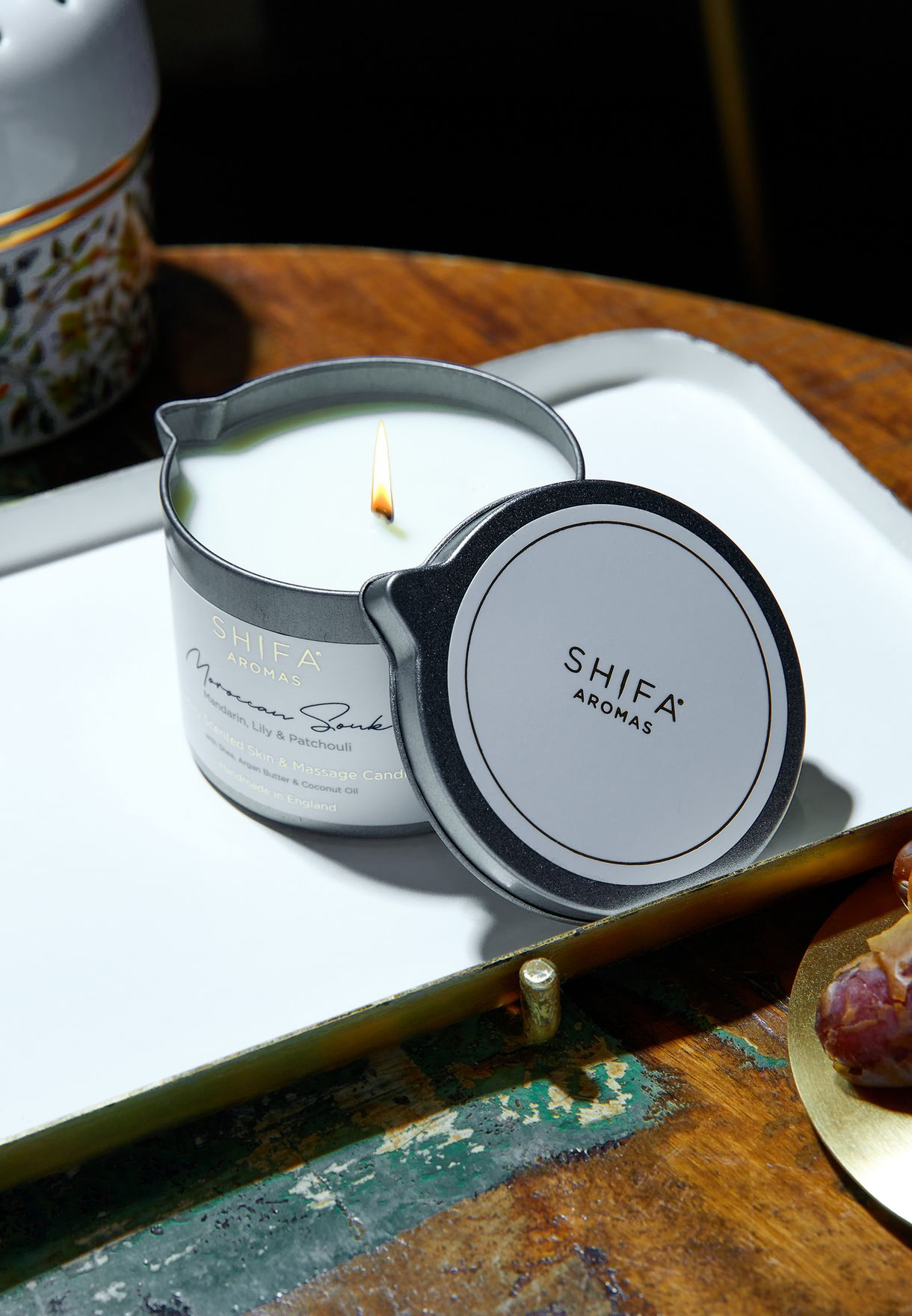Moroccan Souk Massage Candle