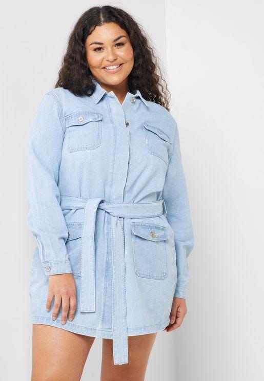 فستان جينز