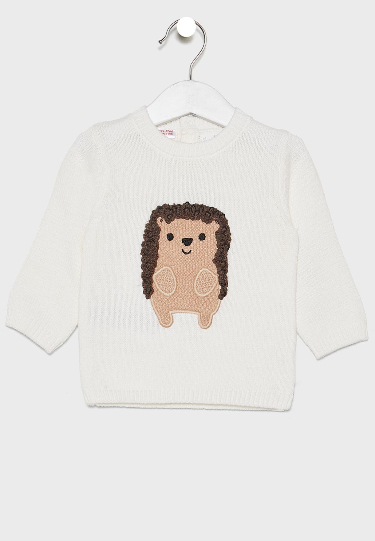 Infant  Hedgehog Sweater