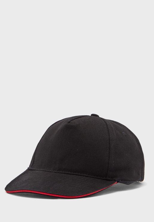Casual Curve Peak Cotton Cap